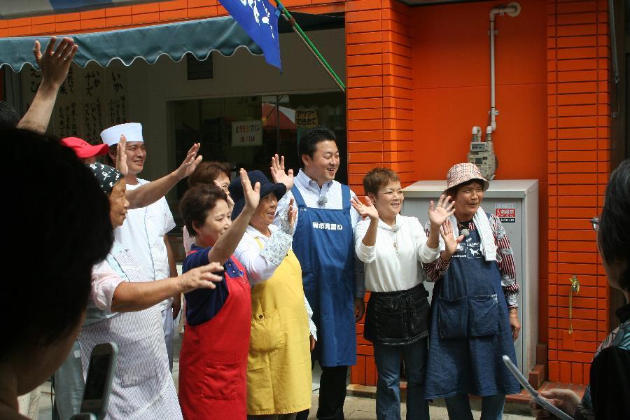 NHK 取材 舞の海