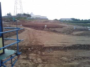 新エネルギーパーク工事中